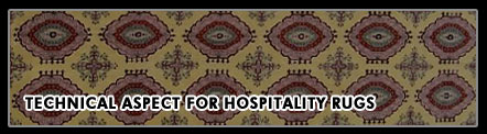 Technical aspect hospitality rugs